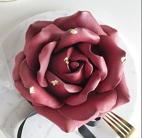 La Rose de Choclat Cake