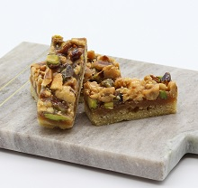 pistachio/hazelnut short bread