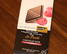 64% Chocolate bar/Raspberry
