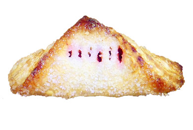 Apple and Cherry Turnover