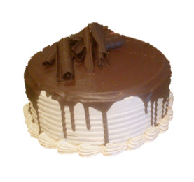 Chocolate vanilla cake