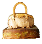 Louis Vuitton Purse Cake