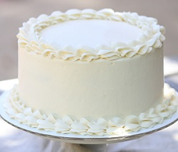 Vanilla butter cream cake