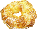 Almond danish ring