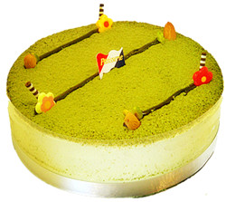Japanese Green tea Cake