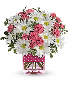 Teleflora Polka Dots and Posies