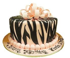 Ribbon cake $80.00