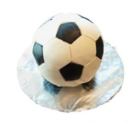 Soccer ball cake $70.00